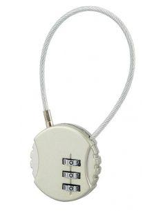 Lacăt cu cifru și cablu